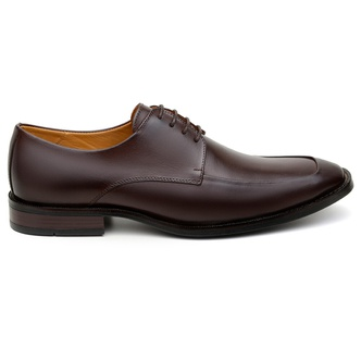 Sapato Social Masculino Derby CNS 68008 Chocolate - CNS