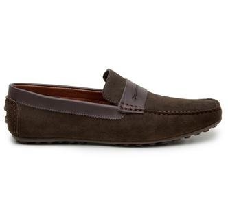 Sapato Casual Masculino Mocassim CNS 18191 Café - CNS