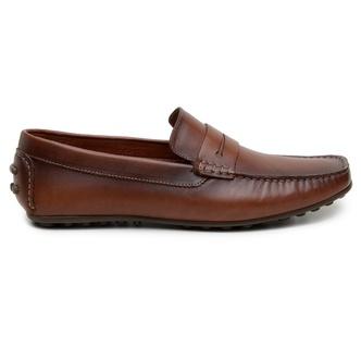 Sapato Casual Masculino Mocassim CNS 18191 Caramel - CNS