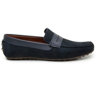 Sapato Casual Masculino Mocassim CNS 18191 Marinho - CNS