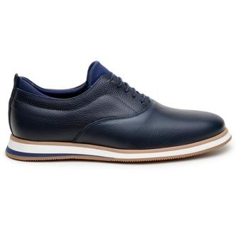 Sapato Casual Masculino Oxford CNS ABD 010 Marinho - CNS