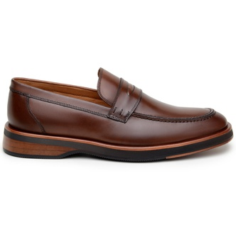 Sapato Casual Masculino Loafer CNS 415010 Conhaque - CNS