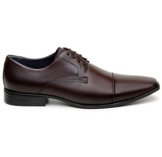 Sapato Social Masculino Derby CNS 2702 Café - CNS