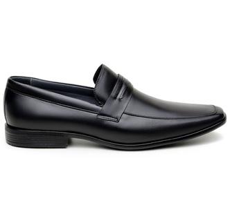 Sapato Social Masculino Mocassim CNS 00422009 Pret - CNS