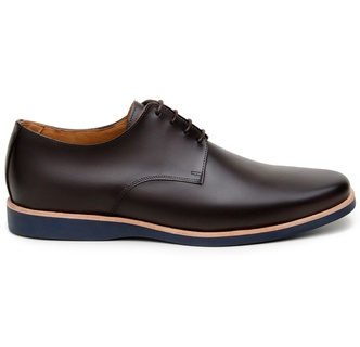 Sapato Casual Masculino Derby CNS Yesterday 07 Caf... - CNS