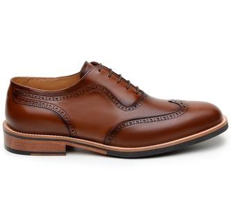 Sapato Casual Masculino Oxford CNS Brogue 14917103... - CNS