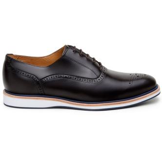 Sapato Casual Masculino Oxford CNS Oggi 13 Café - CNS