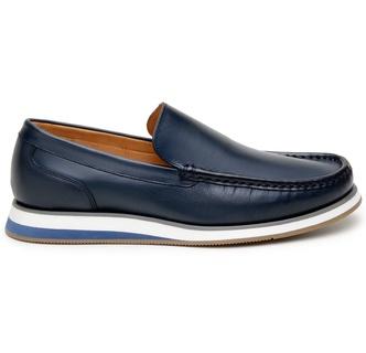Sapato Casual Masculino Loafer CNS Miller Marinho - CNS
