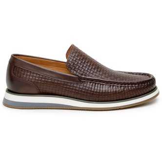 Sapato Casual Masculino Loafer CNS Miller Terracot - CNS