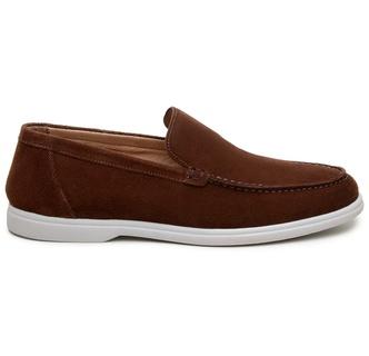 Sapato Casual Masculino Mocassim CNS 510002 Café - CNS