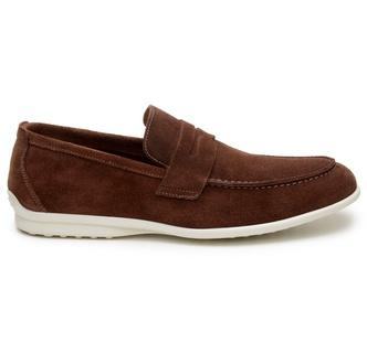 Sapato Casual Masculino Loafer CNS 50911 Café - CNS