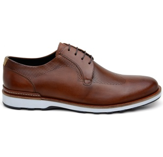 Sapato Casual Masculino Derby CNS 339003 Whisky - CNS