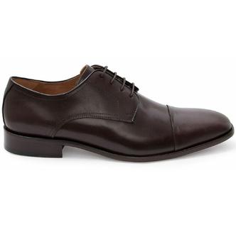 Sapato Social Masculino Derby CNS Pie 001 Castanho - CNS