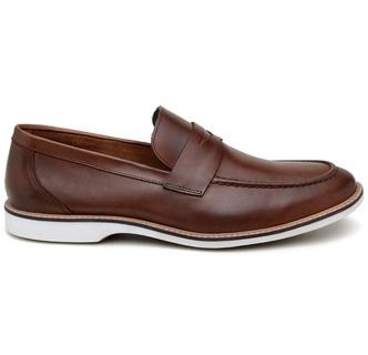 Sapato Casual Masculino Mocassim CNS 301023 Conhaq... - CNS