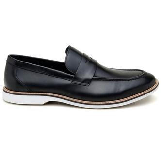 Sapato Casual Masculino Mocassim CNS 301023 Preto - CNS