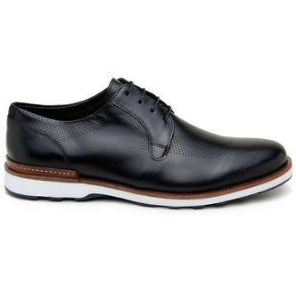 Sapato Casual Masculino Derby CNS 339003 Preto - CNS