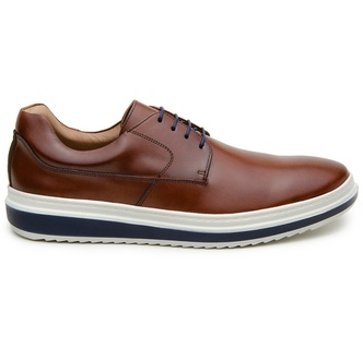 Sapato Casual Masculino Derby CNS 383001 Conhaque - CNS