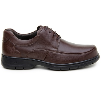 Sapato Casual Masculino Derby CNS 32312 Café - CNS