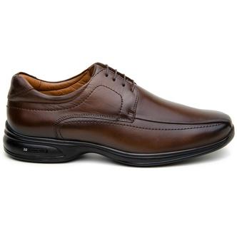 Sapato Social Masculino Derby CNS 71461 Dark Brown - CNS