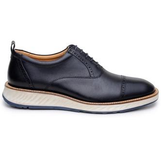 Sapato Casual Masculino Oxford CNS Foster 02 Preto - CNS