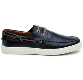 Sapato Casual Masculino Sider CNS Kin 218 Marinho - CNS