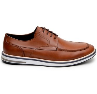 Sapato Casual Masculino Derby CNS 176091 Whisky - CNS