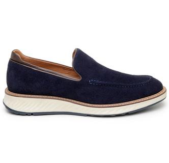 Sapato Casual Masculino Loafer CNS 384033 Azul - CNS