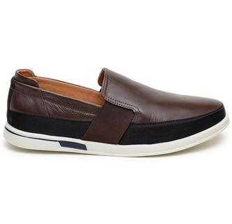 Sapato Casual Masculino Slip-on CNS 405003 Café - CNS