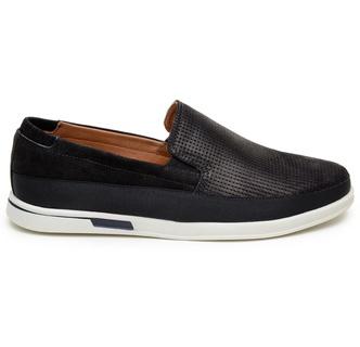 Sapato Casual Masculino Slip-on CNS 405005 Preto - CNS