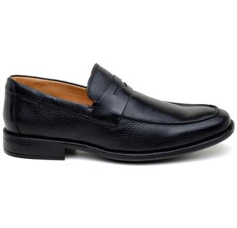 Sapato Casual Masculino Mocassim CNS 14022 Preto - CNS