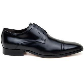 Sapato Social Masculino Derby CNS Robu 46 Preto - CNS
