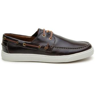 Sapato Casual Masculino Sider CNS Kin 218 Café - CNS