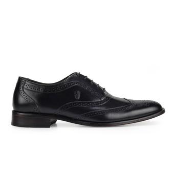 Sapato Brogue Preto Masculino Pierre Monbran Dressy