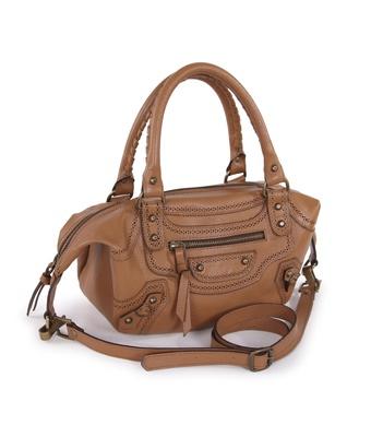 Bolsa Transversal Caramelo 306 Shirley Pequena - MANTOAN LOJA