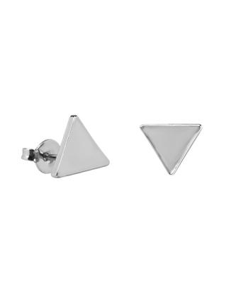 Brinco Triângulo Liso Semijoia RB - 1 PEÇA (Não é ... - MANTOAN LOJA