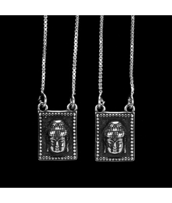 Escapulário Budha Prata 925 - MANTOAN LOJA