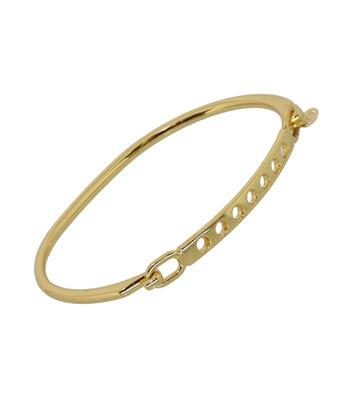 Bracelete Fino Dourado Inoxidável - MANTOAN LOJA