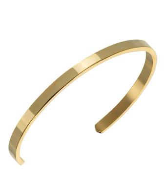 Pulseira Masculina Dourada Aço Inoxidável - MANTOAN LOJA