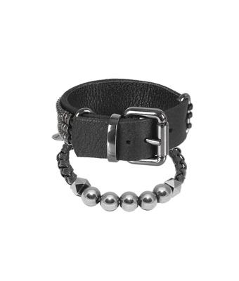 Mix Bracelete e Pedra Natural Ônix Negra - MANTOAN LOJA
