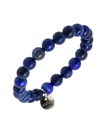 Pulseira Pedra Natural Lapis Lazuli 8mm - MANTOAN LOJA
