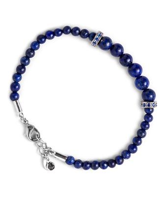 Pulseira Pedra Natural Lapis Lazuli 4mm Entremeio ... - MANTOAN LOJA