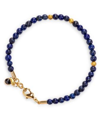 Pulseira Pedra Natural Lapis Lazuli 4mm Semijoia O... - MANTOAN LOJA
