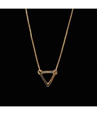 Escapulário Triângulo Ouro - MANTOAN LOJA