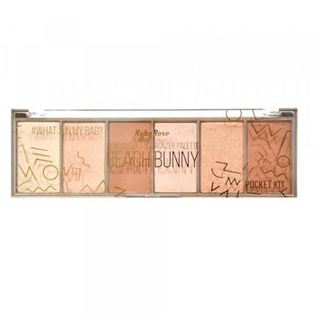 Paleta Pocket Beach Bunny Iluminador e Bronze Ruby...