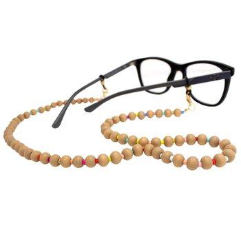 Cordão para Óculos Bolinhas Colors Bege