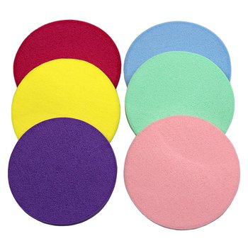 Kit Esponjas em Látex Circular para Maquiagem
