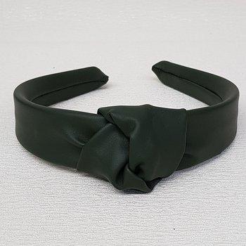 Tiara de Nó Courinho Verde Escuro