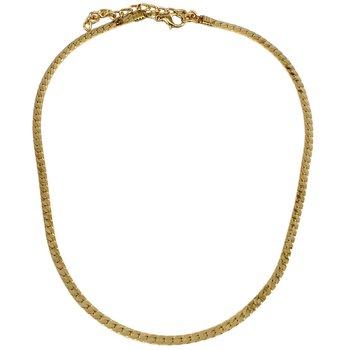 Colar Choker Metal Tabata Dourado *