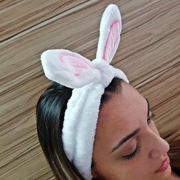 Faixa de Cabelo Para Aplicar Maquiagem Coelhinho B...