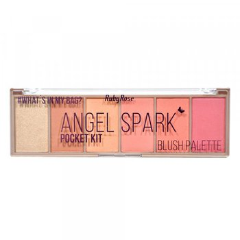 Paleta de Blush Pocket Angel Spark Ruby Rose *